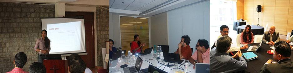 social media and blogging training
