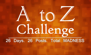 A to Z Blogging Challenge – Begins Tomorrow