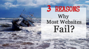 3 Reasons Why Most Websites Fail
