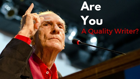 Do You Have Quality Writer Inside You?