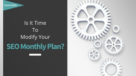 When to Modify Your Custom SEO Monthly Plan