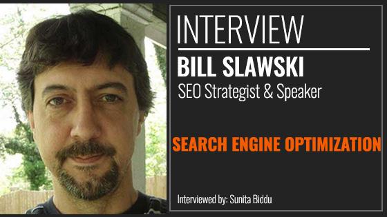 Interview with Bill Slawski on SEO