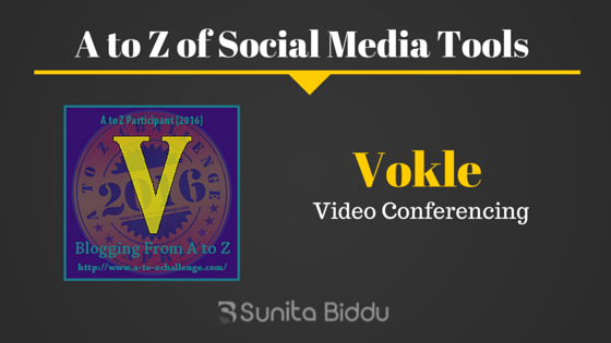 V for Vokle – Free Social Media Tools List For #AtoZchallenge
