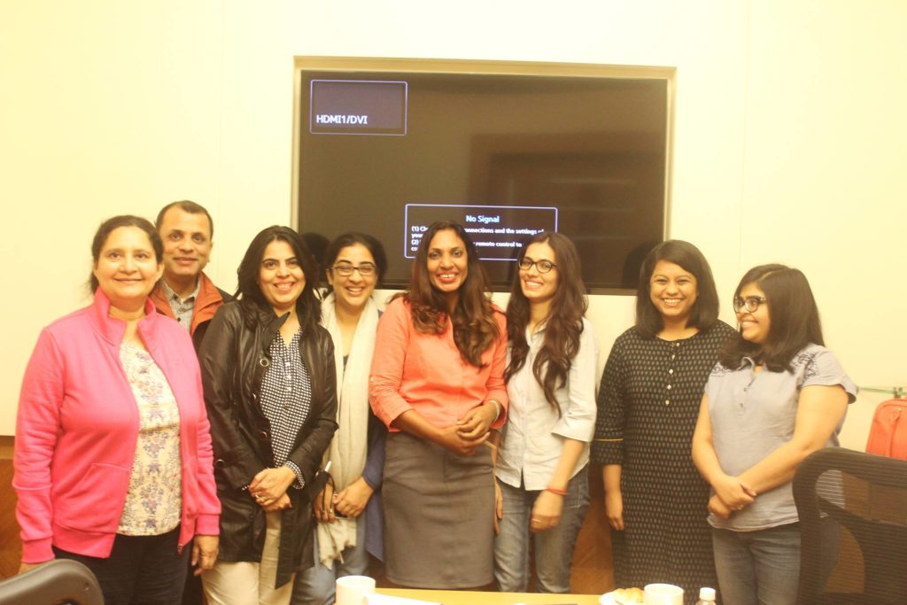 Blogging session with women entrepreneurs in gurgaon – sunita biddu