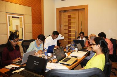 group blogging training
