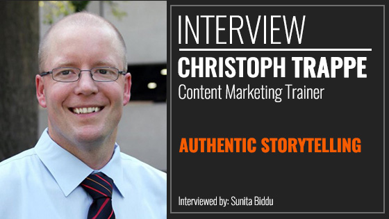 An Interview With Christoph Trappe on Authentic Storytelling