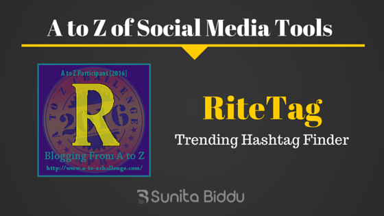 R for Ritetag – Free Social Media Tools List For #AtoZchallenge