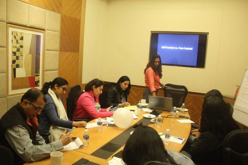 blogging session – sunita biddu blogging coach and trainer