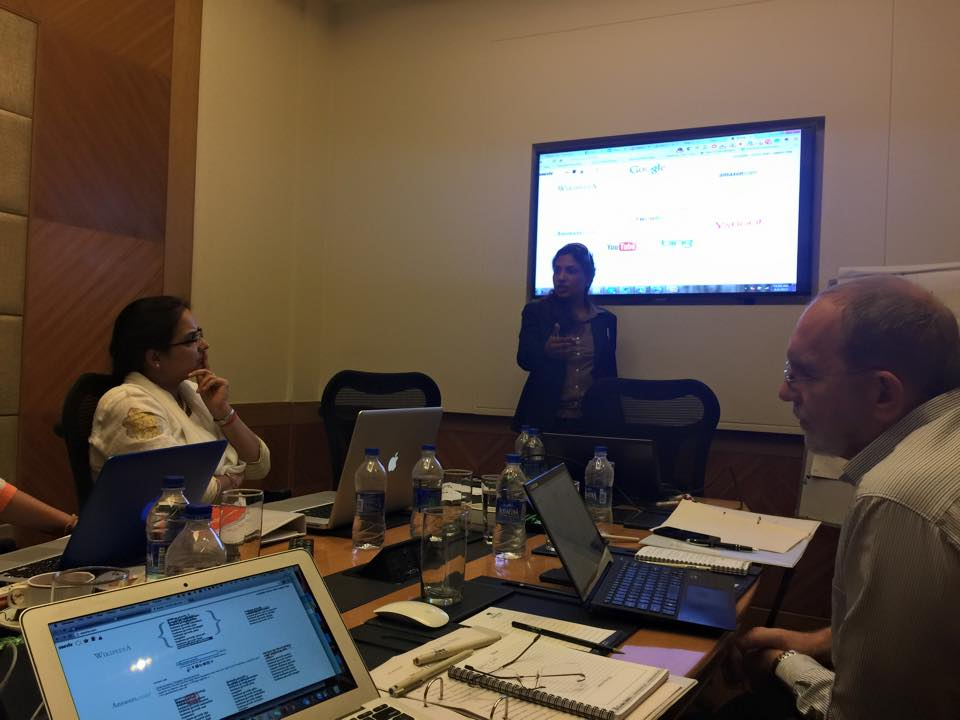 blogging training for business by sunita biddu