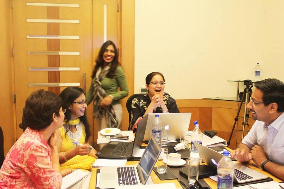 fun moments at blogging training by sunita biddu