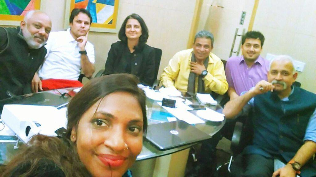 social media session with viktorianz and sunita biddu