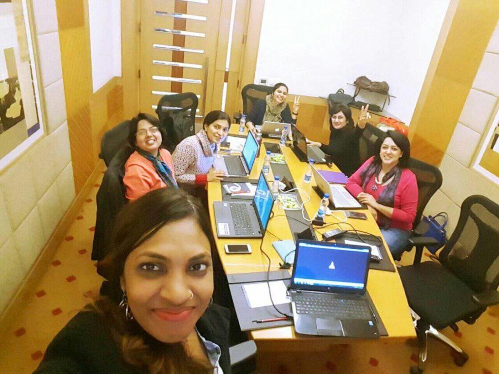 social media visuals training for women entrepreneurs by sunita biddu