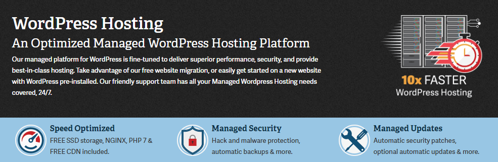 wordpress blog hosting service