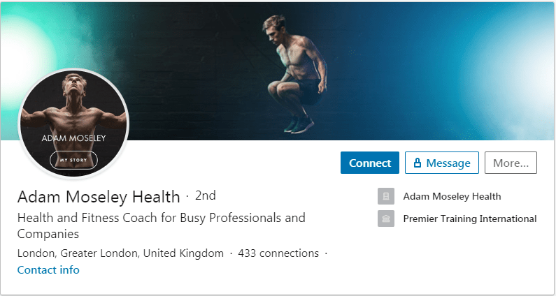 best linkedin bio example